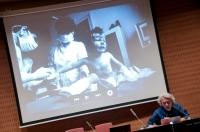 Conferència de Javier Bauluz. Foto Juan Ruz
