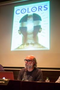 Taula experiències Fotografia documental com a nexe publicitari. Foto Juan Ruz