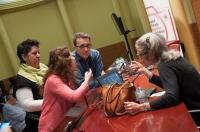 Conferència de Jane Evelyn Atwood Foto Juan Ruz