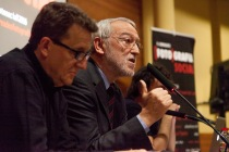 Jordi Folgado (Director general de la FVF) i Eduard Bertran (Director de l'IEFC) inaugurant les Jornades. © Joan Ribó