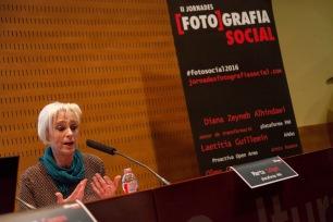 Marta Salgot, representant de la PAH. © Joan Ribó
