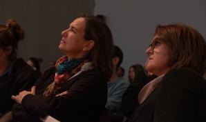 Patricia Plasencia i Encar Mulero. Foto: Ricard Novella