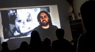 Presentació de Mingo Venero. Foto: Ricard Novella